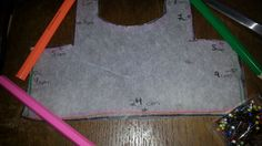 How to make the teddy t- shirt pattern.
