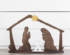 Natividad conjunto Creche pesebre Navidad artesanales cerámica