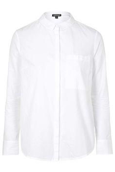 Photo 1 of PETITE Long Sleeve Cotton Shirt