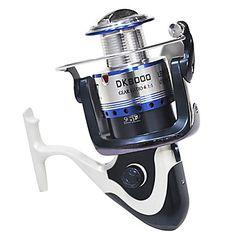 DK8000 Sea Fishing Reel Spinning Fishing Lure Sea Fishing Reel – BRL R$ 136,77