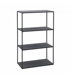 House Doctor Rack Reol - Sort reol i metal House Doctor, Cube Bookcase, Etagere Bookcase, Furniture Ads, Metal Furniture, Baby Furniture, Furniture Websites, Furniture Online, Houses