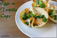eggs in tortilla cups recipe thumb Eggs in Corn Tortilla Cups Recipe