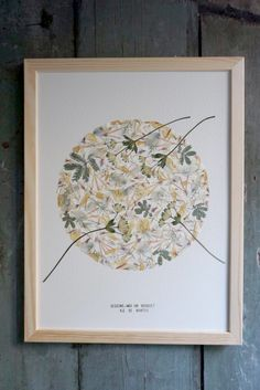 Dried And Pressed Flowers, Pressed Flower Art, Flower Collage, Flower Frame, Diy Crafts For Adults, Crafts To Do, Deco Floral, Art Floral, Do It Yourself Inspiration
