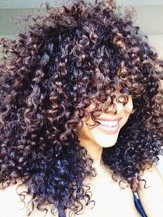 lovely brown curls