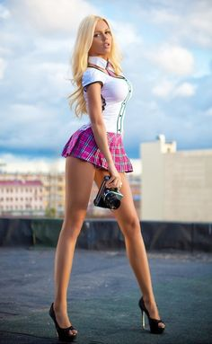 Blonde Barbie Bimbo Dolls : Photo