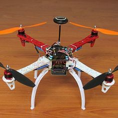 DIY F450 Quadcopter Kit &APM2.8 Flight controller& NEO-7M GPS GPS Bracket& DJI 920KV Brushless motor& Simonk 30A ESC&1045 Propeller&Spare parts pack ** See this great product.