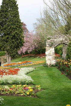 Castle Grounds, Guildford Surrey , England