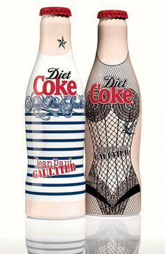 Jean Paul Gaultier diseña para Coca Cola Light