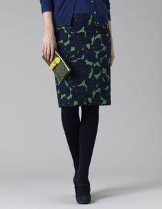 Boden Shadow Floral pencil skirt - Boden