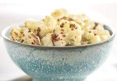 Cauliflower Popcorn -- a perfect Mrs. Dash recipe - mrsdash.com #saltsubstitute #nosalt #healthysnack
