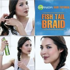 Fish Tail Braid Tutorial