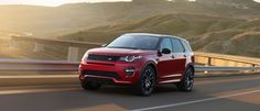 The Land Rover Discovery Sport shows its performance on the road