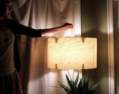 Wood drum lamp shade wood pendant light ceiling light fixture wood wood drum lamp shade wood pendant light ceiling light fixture wood lamp shade modern pendant light in veneer fault lines drum lamp shades ceiling lights mozeypictures Images