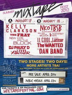 I WISH! NKOTB @ Summer Mixtape Festival
