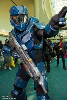 Spartan (Halo) - San Diego Comic Con 2014 Day 1