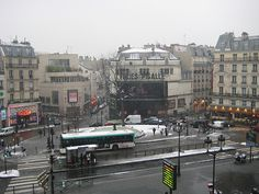 Pigalle - January 2009 - my old bus stop :)
