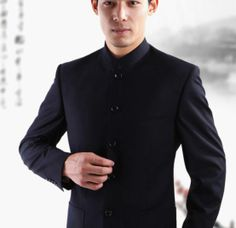chinese man clothes | Men's clothes in Chinese style--Chinese tunic suit