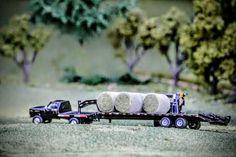 1/64 Model Farm Display Farm Trucks, Toy Trucks, Farm Layout, Custom Hot Wheels, Toy Display, Farm Toys, Case Ih, Semi Trucks, Toys For Boys