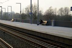 Station Goffert Nijmegen, FSC Prorail, Jan Kuipers Nunspeet, Koninklijke Dekker Bolivia, Railroad Tracks, Netherlands, Projects, Beautiful, Dutch Netherlands, Log Projects, Holland, The Netherlands