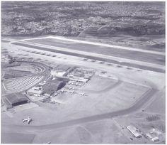 Historic picture of brazilian airport Congonhas, circa 1940s. www.fotografiasaereas.com.br/blog/ontem-e-hoje-fotos-dos-77-anos-do-aeroporto-de-congonhas/