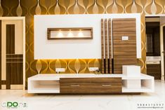 Residence project @ senthil nagar chennai by adorn Lcd Wall Design, Lcd Unit Design, Modern Tv Unit Designs, Wall Unit Designs, Living Room Tv Unit Designs, False Ceiling Design, Tv Unit Interior Design, Tv Unit Furniture Design, Bedroom Furniture Design