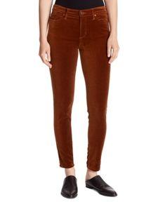 Ella Moss Velvet Ankle Skinny Jeans In Saddle Brown Mid Rise Skinny Jeans, Skinny Fit, Skinny Pants Outfits, Ella Moss, Velvet Pants, Juniors Jeans, Women's Socks & Hosiery, Junior Outfits, Black Jeans
