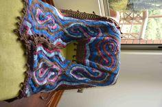 Ruana crochet