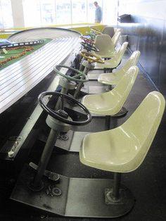 Buzz-A-Rama – Brooklyn, New York - Atlas Obscura Slot Car Race Track, Slot Car Racing, Slot Cars, Race Cars, Race Tracks, Slot Car Tracks, Car Hd, Car Images, F1