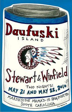 Marshside Mamas May 2010 - Daufuskie Island, SC   (Promo Poster by C W Smith)