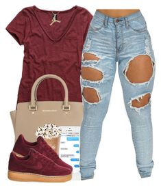 """3/6/16"" by polyvoreitems5 ❤ liked on Polyvore featuring Michael Kors and NIKE"