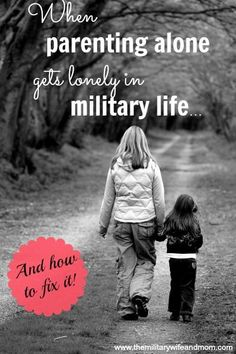 BEST #tips for working through tough phases of parenting solo in #military #life!