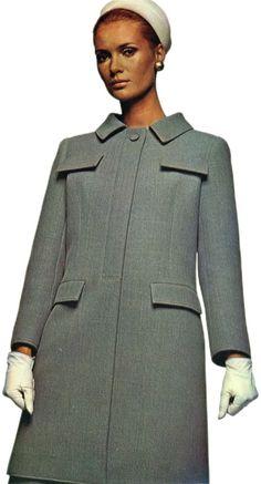 1966 Ricci Seven-Eighths Length Coat                                                                                                                                                                                 Más