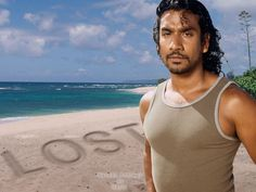 Naveen Andrews -- met at Hawaii Convention Center during the Honolulu Marathon