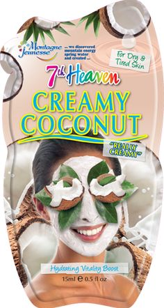We've harnessed the hydrating goodness of fresh Coconut Water & added lots of lovely ingredients to our coconut mask to moisturise & hydrate skin