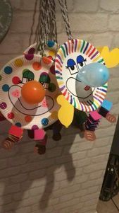Crafts with carnival - carnival - crafts fasching kids carnival m .Crafts with carnival - carnival - crafts Carnival KinderKarneval mitMake your own individual mask! Freebie for kids! Kids Crafts, Clown Crafts, Circus Crafts, Carnival Crafts, Diy And Crafts, Carnival Ideas, Carnival Tent, Carnival Prizes, Craft Kids
