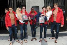 R.I.P., shirtless Abercrombie & Fitch models. We take a look back at its finest guys.