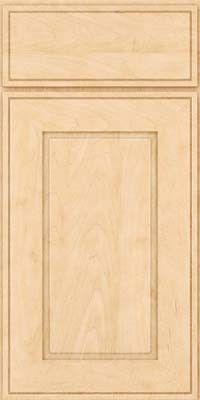 KraftMaid Cabinets -Square Raised Panel - Solid (AB1M) Maple in Natural from waybuild