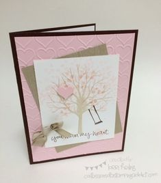 Sheltering Tree Card :: Confessions of a Stamping Addict Lorri Heiling