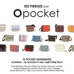 ‪#‎Handmade‬ details for this ‪#‎FW2015‬ collection. Read more about the project here:  http://www.fullspot.it/blog/o-pocket-ied/ Pattine ‪#‎Opocket‬ fatte a Mano in collaborazione con IED Firenze. Leggi di più al nostro link!  ‪#‎Obag‬