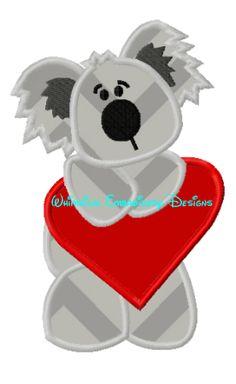 Koala with Heart