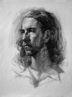 Portrait Drawing Fundamentals with Stan Prokopenko Only 8 Seats left … Register ASAP – you don't want to miss this one! Teachers: Stan Prokopenko Stan is a talented artist and… Guy Drawing, Life Drawing, Figure Drawing, Drawing Sketches, Painting & Drawing, Sketching, Portrait Sketches, Pencil Portrait, Portrait Art
