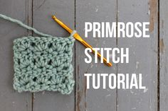 The primrose stitch is perfect for any crocheter who wants to bring a pretty texture to anything from home decor to garments and accessories. Pull out your favorite swatching yarn and learn how to crochet the primrose stitch with this FREE photo tutorial.