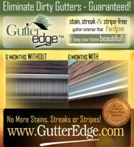 Gutter Edge - Eliminate Gutter Stains