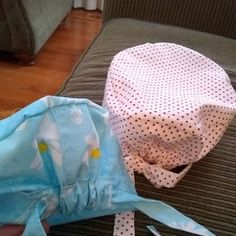 DIY Surgical/Scrub Hat DIY Surgical/Scrub Hat : 4 Steps (with Pictures) – Instructables Scrubs Pattern, Scrub Hat Patterns, Hat Patterns To Sew, Sewing Patterns Free, Hat Pattern Sewing, Free Sewing, Free Pattern, Small Sewing Projects, Sewing Projects For Beginners