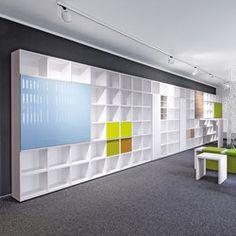 BASIC S SHELF SYSTEM - Designer Office shelving systems from werner works ✓ all information ✓ high-resolution images ✓ CADs ✓ catalogues ✓..