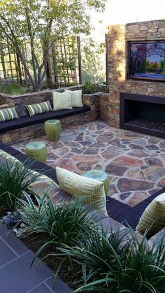 Small backyard patio ideas awesome patio design ideas for small backyards gallery interior patios exterior backyard . Patio Design, Exterior Design, Garden Design, House Design, Small Backyard Design, Backyard Designs, Outdoor Rooms, Outdoor Living, Outdoor Decor