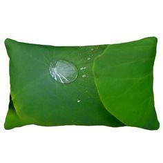 Lotus Leaf Gathering Rain Pillow
