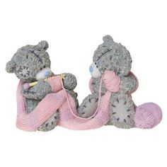 Closely Knit Me to You Bear Figurine