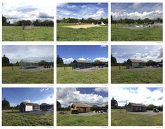 Prototipo Extend®  Proceso de Obra 8 semanas 311.664.16.93 Medellín - Antioquia Mountains, Nature, House, Travel, Collections, Beautiful, Mini, Medellin Colombia, Prefab Homes