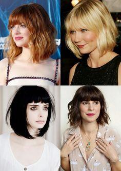Simple Everyday Hairstyle for Short Hair: Women Haircuts   Bob, Long Bob = Lob, Wave Bob = Wob Corte de Cabelo Curto 2015